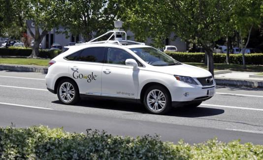 Auto sin conductor de Google
