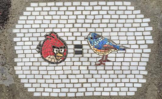 Huecos con mosaicos