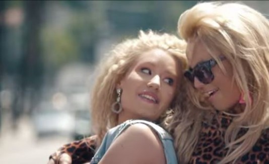 Britney Spears y Iggy Azalea