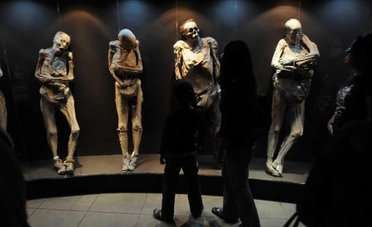 Museo de las Momias de Guanajuato en México