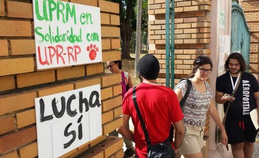 Marcha de la UPR