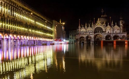 Plaza de San Marcos en Venecia, Italia