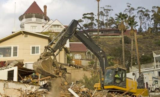 Demolición de casa