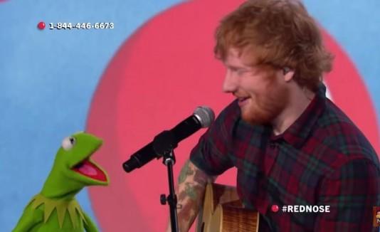 Ed Sheeran y la Rana René