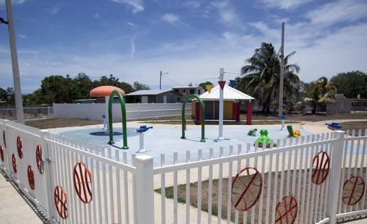 Las instalaciones, que  cuentan con un parque acuático, será el hogar  para ligas menores y deportivas del municipio.