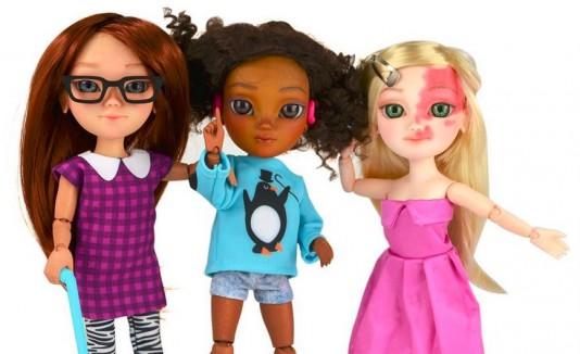 Muñecas con discapacidades