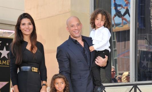 Vin Diesel y familia