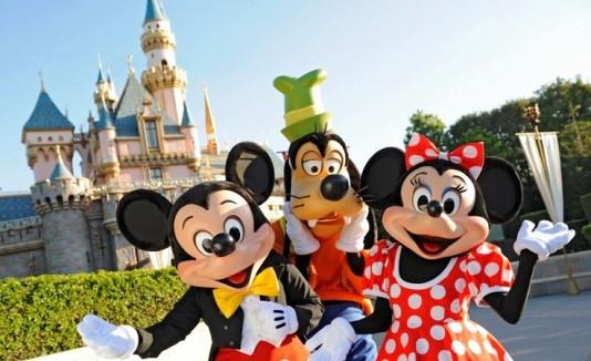 Mickey, minnie y pluto