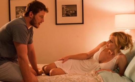 Chris Pratt y Anna Faris