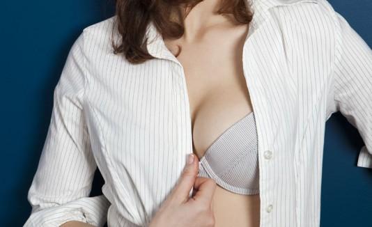 Mujer con bra