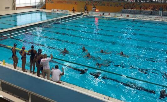 Polo acuático femenino en los Juegos Panamericanos 2015