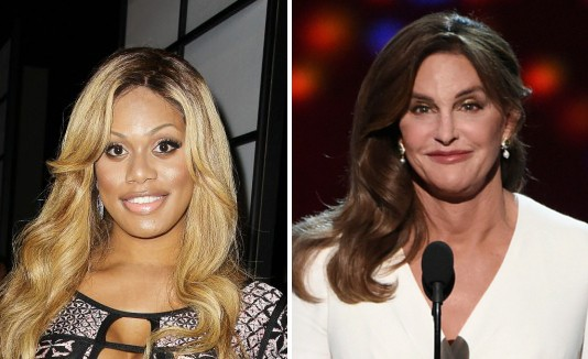 Laverne Cox y Caitlyn Jenner