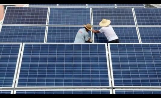 China planta solar