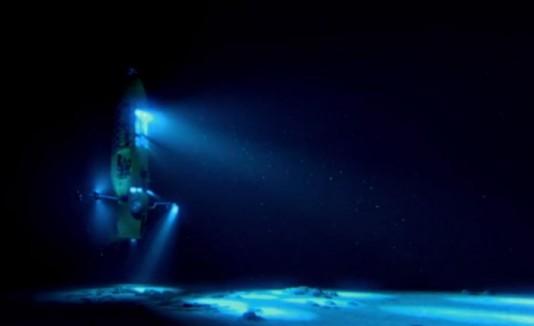 El submarino Deepsea Challenger