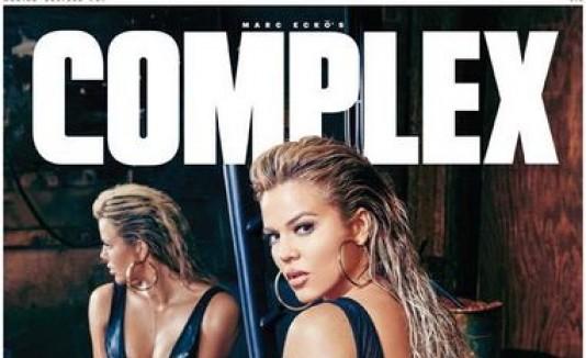 Khloe Kardashian en Complex