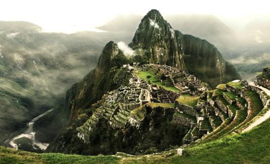 Machu Picchu en Perú.