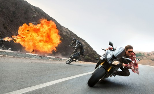 "Tom Cruise es ""Mission: Impossible - Rogue Nation""."