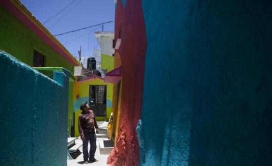 Mexico mural