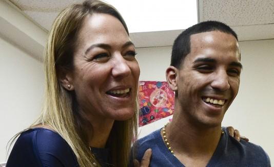 Bonnie Guzmán y Emmanuel Rodríguez
