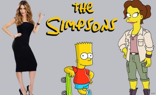 Sofia Vergara /  The simpsons