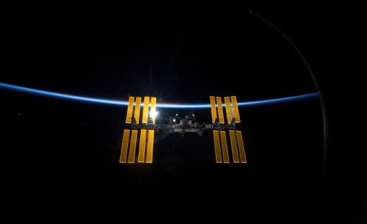 La Estación Espacial Internacional.