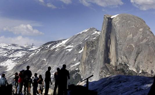 El Glaciar Point en el Yosemite National Park.