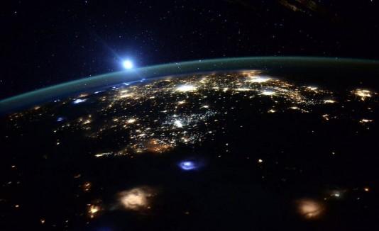 Oeste de los Estados Unidos desde el espacio.