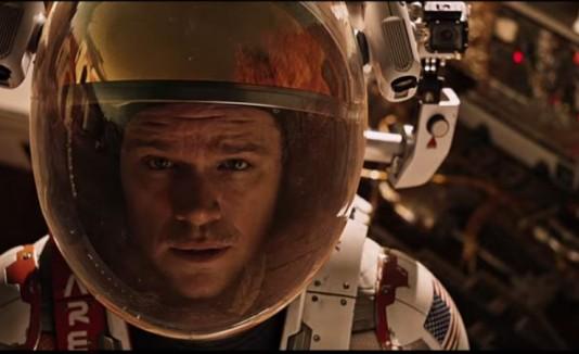 "Matt Damon protagoniza ""The Martian"""