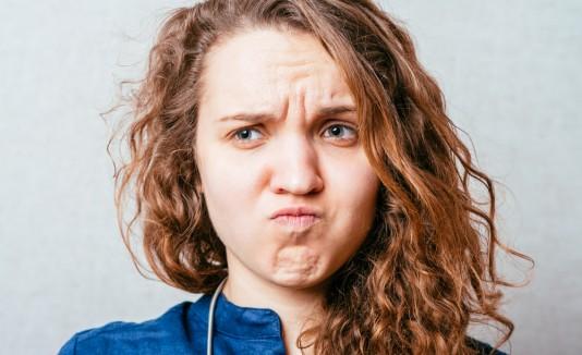 Girl bummed