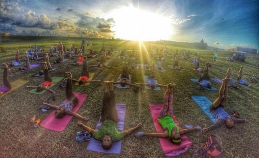 Yoga en El Morro