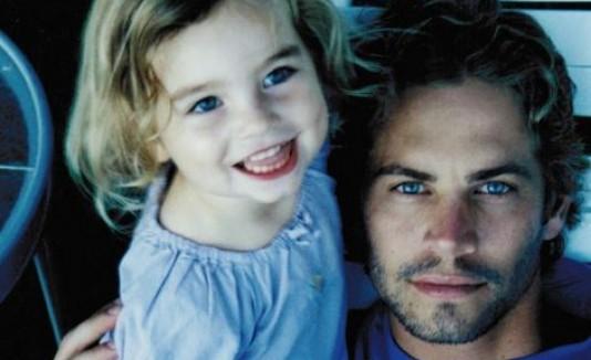 Paul Walker e hija Meadow