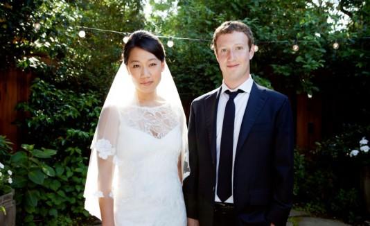 Mark Zuckerberg y Priscilla Chan