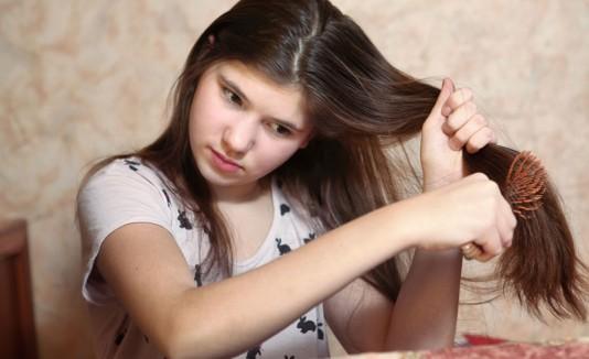 Desenredar pelo cabello