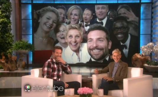 Ellen y bradley cooper