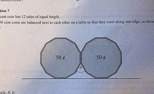 Problema matemático subido a Facebook.