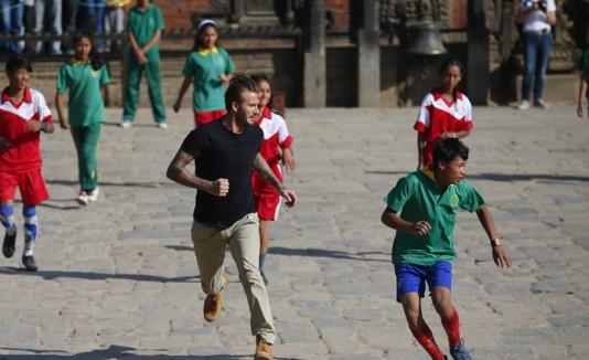 David Beckham / Nepal