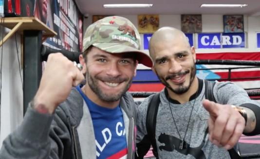 Pedro Capó y Miguel Cotto