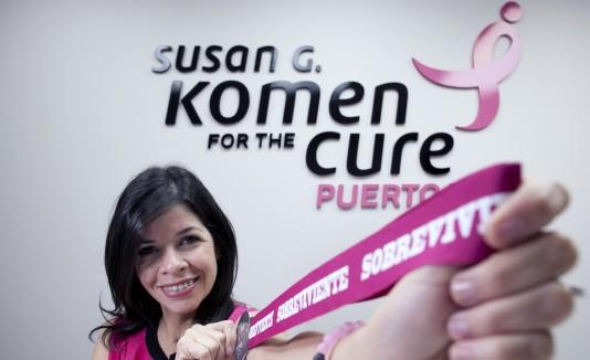 Amarilis Reyes, directora ejecutiva de Susan G. Komen, indicó que la carrera le permitirá llevar un mensaje de prevención a personas que desconocen los servicios de la organización.