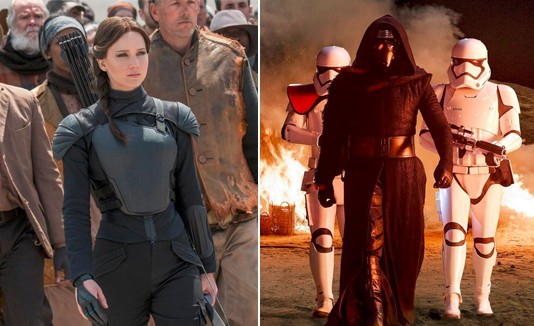 The Hunger Games y Star Wars