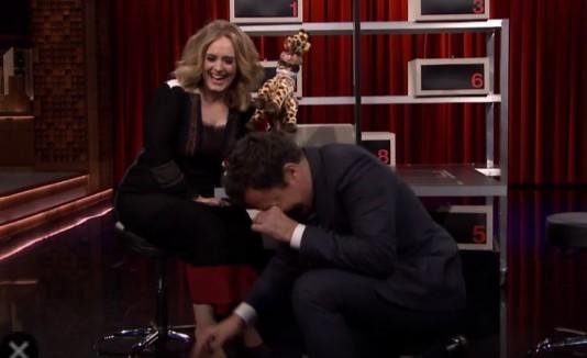 Adele y Jimmy Fallon