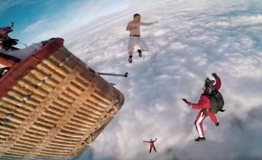 Salto paracaidas