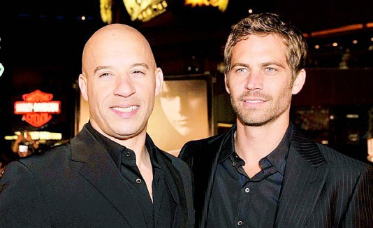Vin Diesel y Paul Walker.