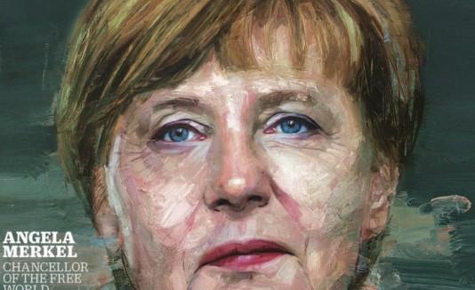 Angela Merkel en Time