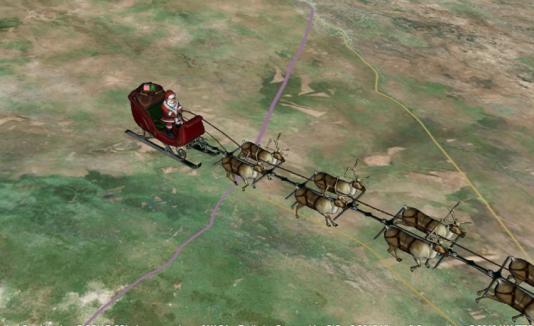 La ruta de Santa