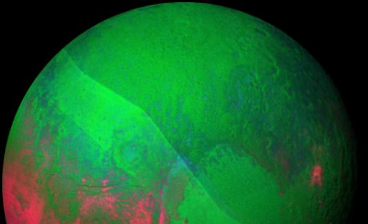 Plutón navideño