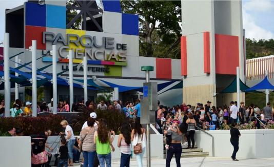 Reapertura del Parque de las Ciencias, en Bayamón