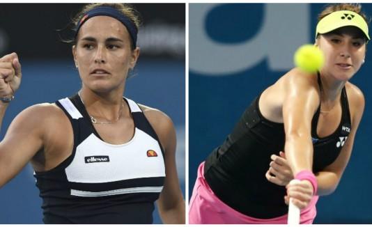 Monica Puig y Belinda Bencic