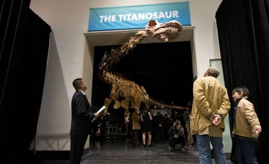 Titanosaurio en Nueva York