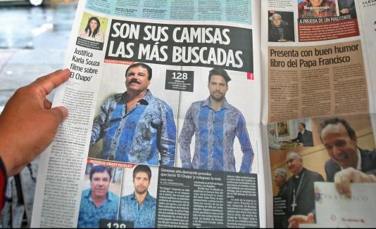 Camisa de El Chapo