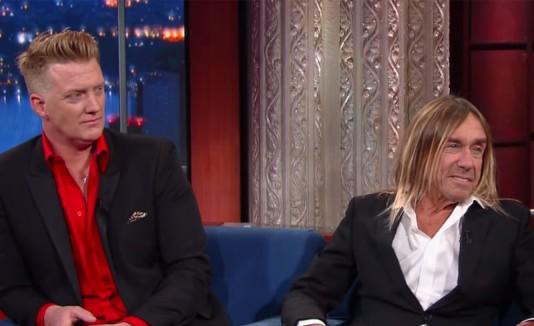 Iggy Pop y Josh Homme